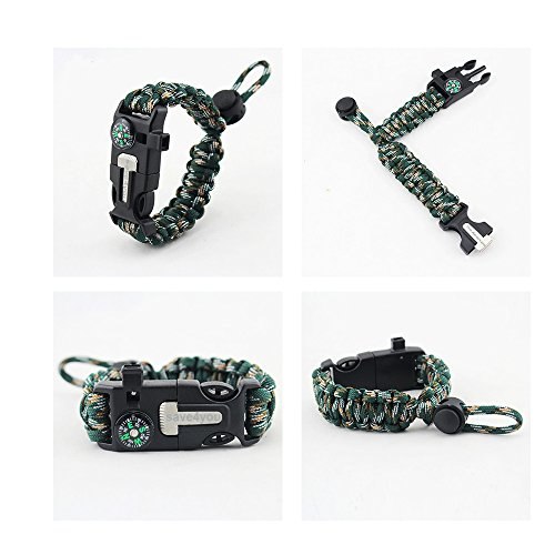 2PCS-PACK-Save4you-Multifunctional-Paracord-Bracelet-Adjustable-Size-Outdoor-Survival-kit-with-Compass-Fire-Starter-Whistle-Scraper-for-Hiking-Camping-Hunting-Mountain-camouflage