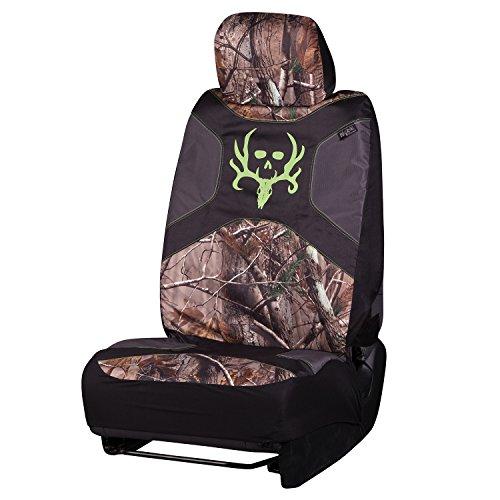 Realtree Truck Seat Covers - Bone Collector Camo Seat Covers | Low Back | Ap | Single, Realtree AP, Single