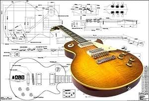 Amazon  Plan of    Gibson       Les       Paul     59 Electric Guitar