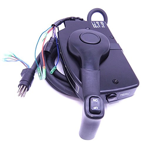 (881170A15 Boat Motor Side Mount Remote Control Box with 8 Pin for Mercury Outboard Engine PT, Right)
