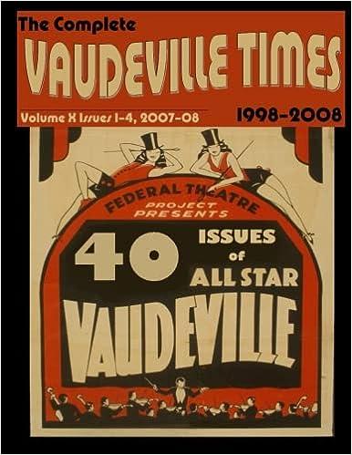 Elite Torrent Descargar Vaudeville Times Volume X: Volume 10 PDF Gratis Descarga