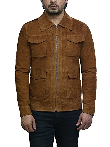 Brandslock Leather Suede Goat Long Tan Broncearse 4wxr4