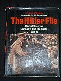 The Hitler File, Frederic V. Grunfeld, 0517307006