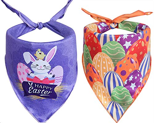 Upaw 2 Pack Dog Easter Bandana