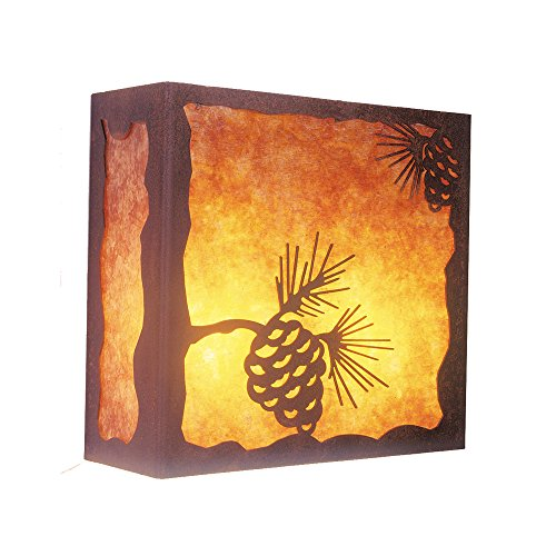 Steel Partners Lighting Nature Sconce  Pinecone