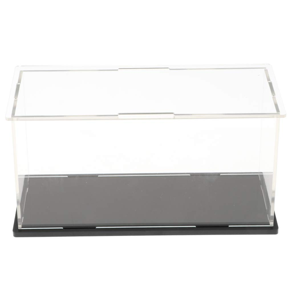 B Blesiya V/ítrina de Acr/ílico Caja de Exhibici/ón Estuche de Muestra Transparente para Figura de Acci/ón Juguete de Felpa 10 x 10 x 10cm