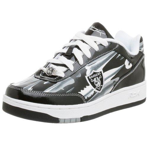 Reebok Men s NFL Oakland Raiders Recline Paint Sneaker 046af53f0