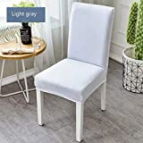 Bar Stools for Sale Near Me ASMGroup White Polyeater Elastic Dining Stretch Chair Cover Removable Anti-Dirty Party Hotel Banquet Chair Seat Case