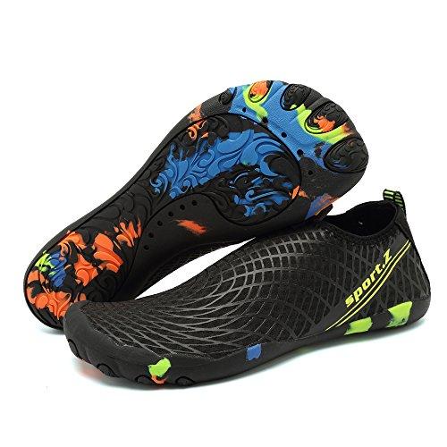 Chaussures Pour Lger Rapide Femmes Beach La Hommes Swim D'eau Barefoot Respirant Marche Schage Black2 Yoga Dierdi xHqgzXCz