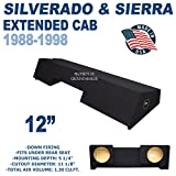 94 silverado subwoofer - Chevy Silverado & Gmc Sierra Extended Cab 89-98 12