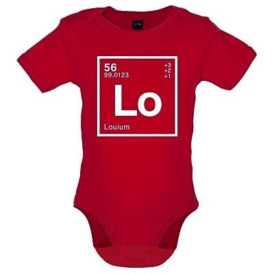 Lou - Élément Périodique - Bébé-Body - 7 Couleur - 0-18 mois
