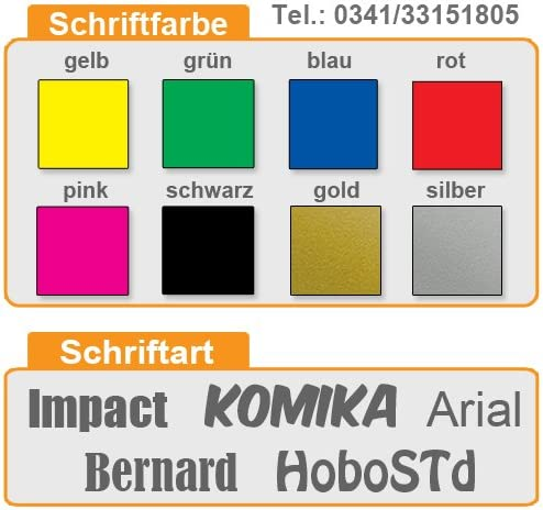 Kiwistar Magnetschild Notarzt im Einsatz 30x8cm f/ür KFZ und sonstige Metalloberfl/ächen