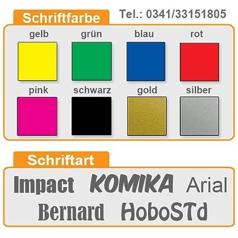 Magnetschild 45x12cm Wachschutz f/ür KFZ und Metalloberfl/ächen reflektierend oder normal