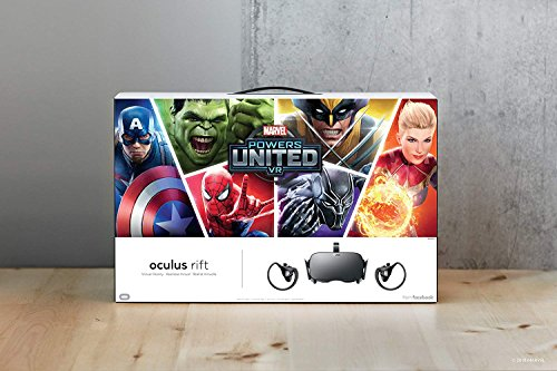 Oculus Marvel Powers United VR Special Edition Rift + Touch – PC (Limited Edition)