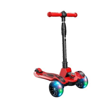 Patinetes Scooter de Tres Ruedas Diseño Plegable Posición de ...