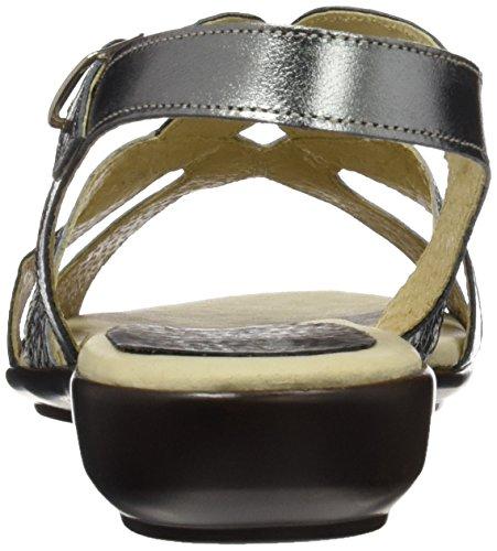 ceniza Egoisimo 4744218 Para De Plata Punta Zapatos Plateado Mujer Abierta Con Tacón vTrwTxa