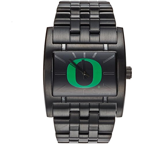 Rockwell NCAA Oregon Ducks Men's Apostle Watch, Adjustable, Black (Oregon Watches Ducks College)