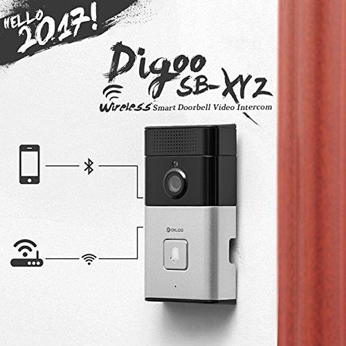 Digoo SB-XYZ Wireless Bluetooth and WIFI Smart Home HD Video DoorBell Camera Phone