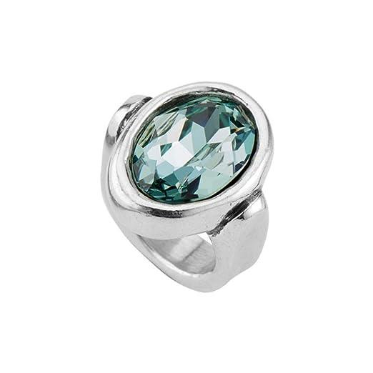 Uno de 50 Anillo de la aleacin de Cristal de Swarovski de Orion XL ANI0587AZUMTLXL: Amazon.es: Relojes