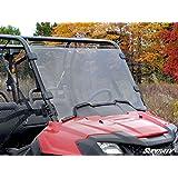 SuperATV Honda Pioneer 700 Scratch Resistant Full Windshield ALL YEARS