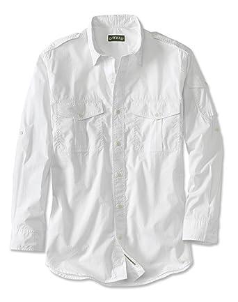 b14b0f4678de Orvis Long-sleeved Cotton Poplin Bush Shirt