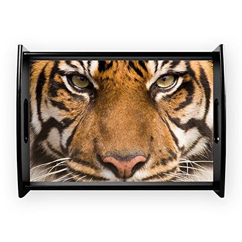 Large Serving Tray Sumatran Tiger Face