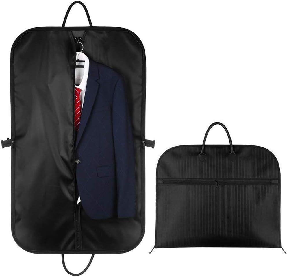 Kleidersack Anzugtasche, 100 x 60cm Atmungsaktiver Reise Kleiderhülle mit Hochwertiges Wasserdichtes Material für Reisen Business