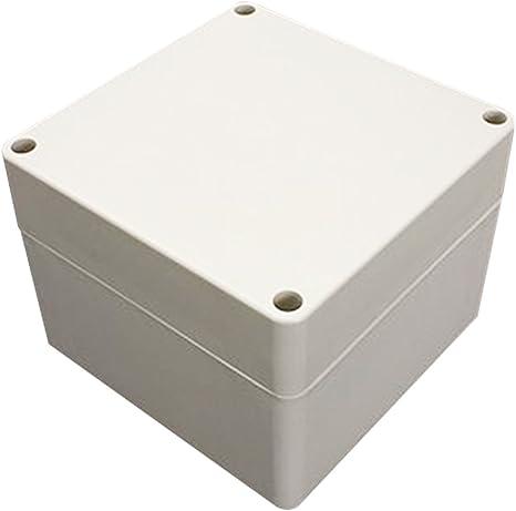 Woopower Caja de plástico ABS Resistente al Agua para proyectos electrónicos (Tamaño IP66, 120 x 120 x 90 mm), Color Gris, 120*120*90: Amazon.es: Deportes y aire libre