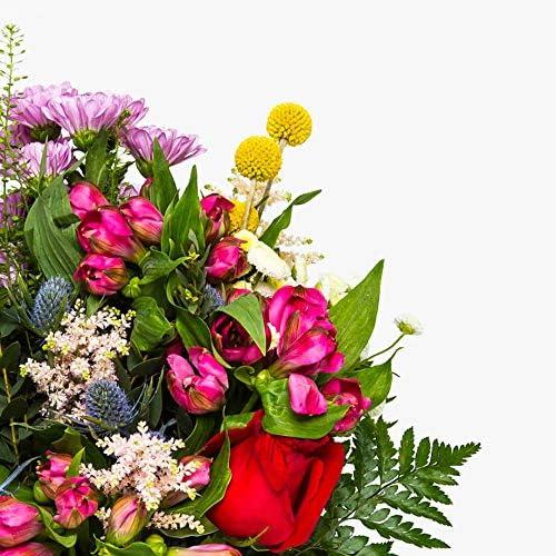 Flores frescas Ramo de flores naturales a domicilio variado Haifa Style Caja especial para ramos de flores naturales. Env/ío a domicilio 24h GRATIS Tarjeta dedicatoria incluida