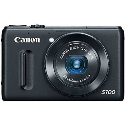 Canon PowerShot S100 12.1MP Digital Camera with 3-Inch TFT LCD