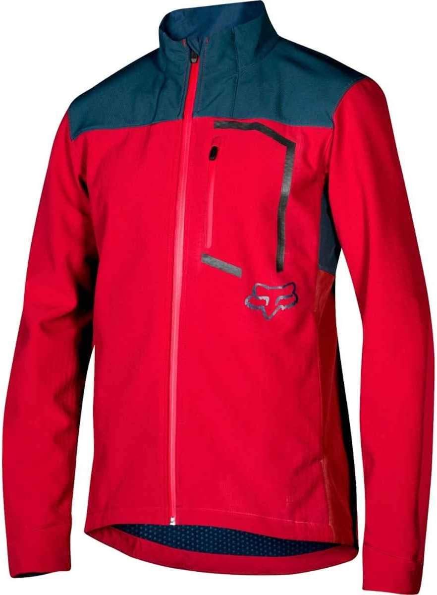 Fox Jacket Attack Fire Cardinal S
