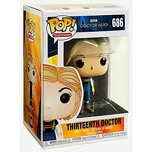 Funko Pop Television: Doctor Who - Thirteenth Doctor Collectible Figure, Multicolor