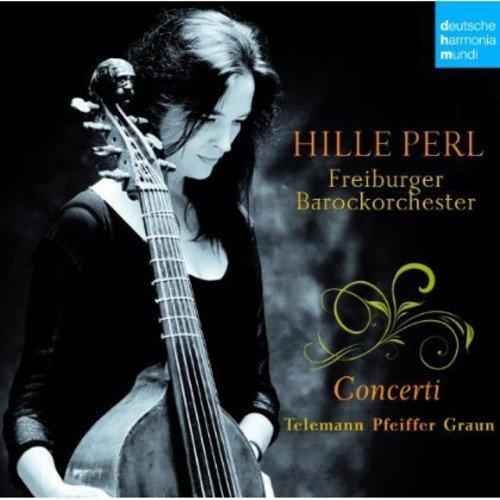 Telemann\Pfeiffer\Graun: Concertos F Or Viola Da Gamba