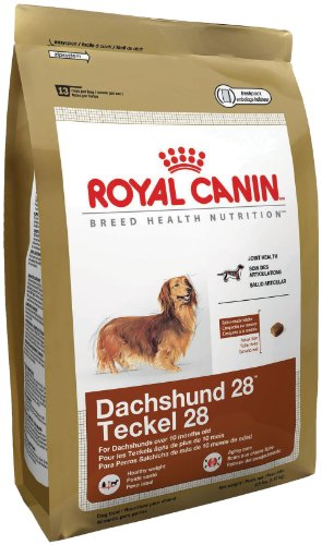 Royal Canin Dry Dog Food, Dachshund 28 Formula, 10-Pound Bag, My Pet Supplies