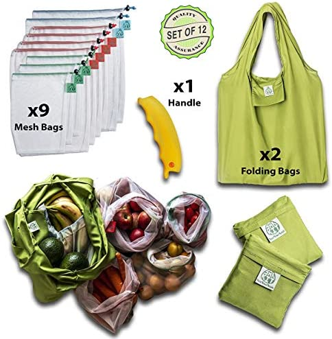Reusable Bags Reusable See through Eco Friendly vegetable product image