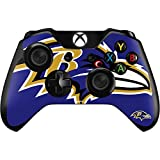 Skinit NFL Baltimore Ravens Xbox One Controller Skin - Baltimore Ravens Large Logo Design - Ultra Thin, Lightweight Vinyl Decal Protection