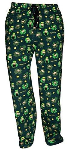 Bottoms Adult Baby (UB Adult ST Patrick's Day Leprechaun Matching Family Pajama Pants (S))