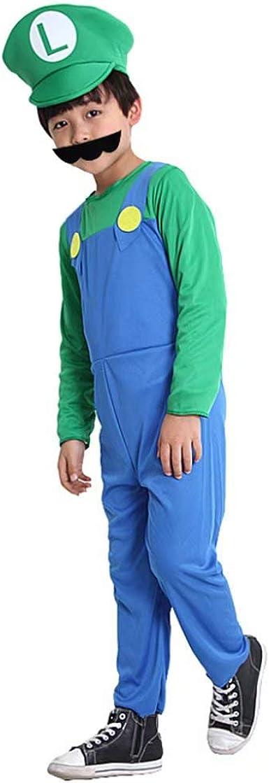 RenKeAi Adultos Niños Super Mario Luigi Bros Fontanero Hermanos ...
