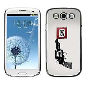 GagaDesign Phone Accessories: Hard Case Cover for Samsung Galaxy S3 - Bang Pistol Gun