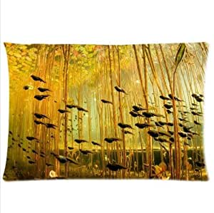 Best Seller Pillowcase,Tadpole In The Water Plant Tadpole Pillowcase,Twin Sides Pillowcase Pillow Cover 20x30 inches