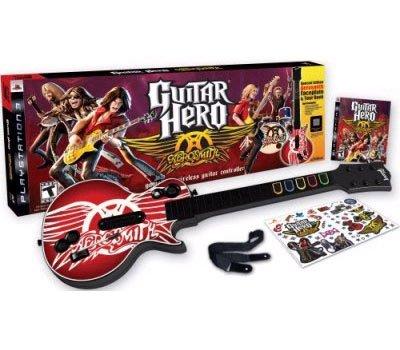 (PS3 Guitar Hero Aerosmith Original Bundle (Game + Guitar))