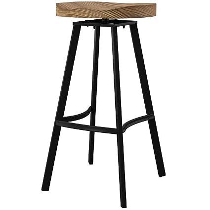 Marvelous Amazon Com Mercury Row 31 5 Swivel Pinewood Backless Bar Machost Co Dining Chair Design Ideas Machostcouk