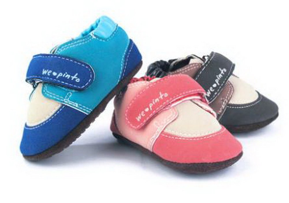Lovely Baby Shoes Autumn Nonslip Toddler Shoes Blue 11.5cm