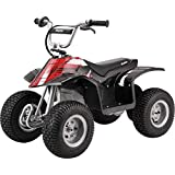 """Razor Dirt Quad – 24V Electric 4-Wheeler Ride-On for Kids 8+, Twist-Grip Variable-Speed Acceleration Control, Hand-Operated Disc Brake, 12"""" Knobby Air-Filled Tires"""
