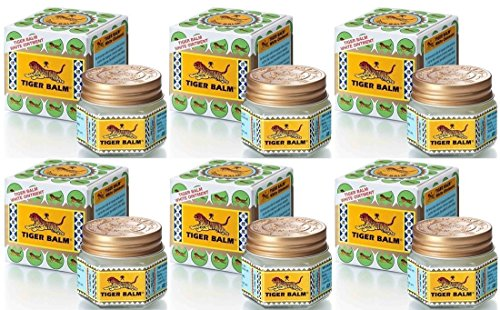 Easy Hobbes Costume (White Tiger Balm Herbal Ointment Relief Muscular Pain 30g x 6)