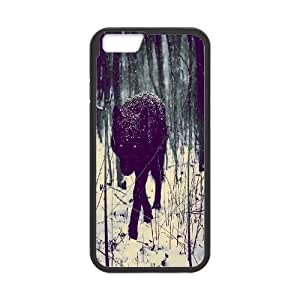 "DDOUGS Black Wolves High Quality Cell Phone Case for Iphone6 4.7"", Personalized Black Wolves Case"