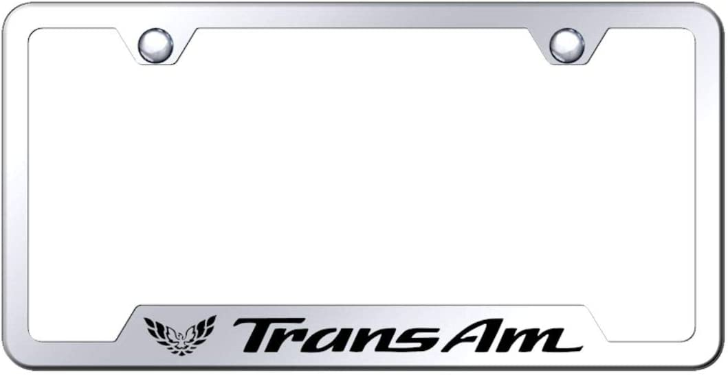 INC License Plate Frame for Pontiac Trans Am Stainless Steel Chrome Au-Tomotive Gold