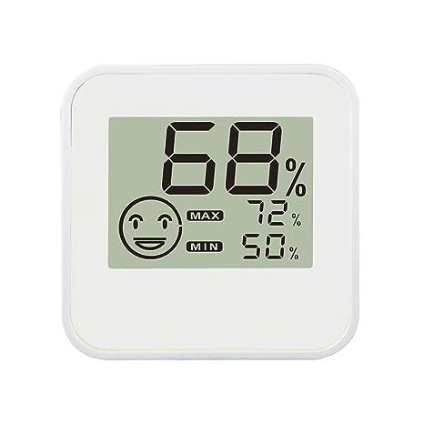 Gran pantalla LCD Digital de interior termómetro higrómetro con sensor de temperatura/humedad para casa
