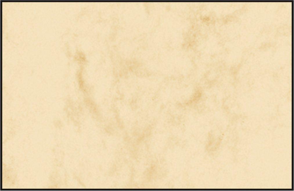 Sigel DP746 Biglietti da visita, 3C, con taglio netto tutt'intorno, azzurro sfumato, 85x55 mm (A4), 200 g, 100 pz.=10 fg.