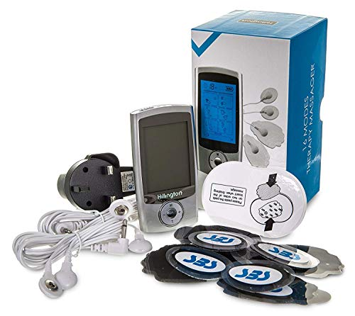 Hillington Digital Tens Machine Full Body Pain Management and Rehabilitation...